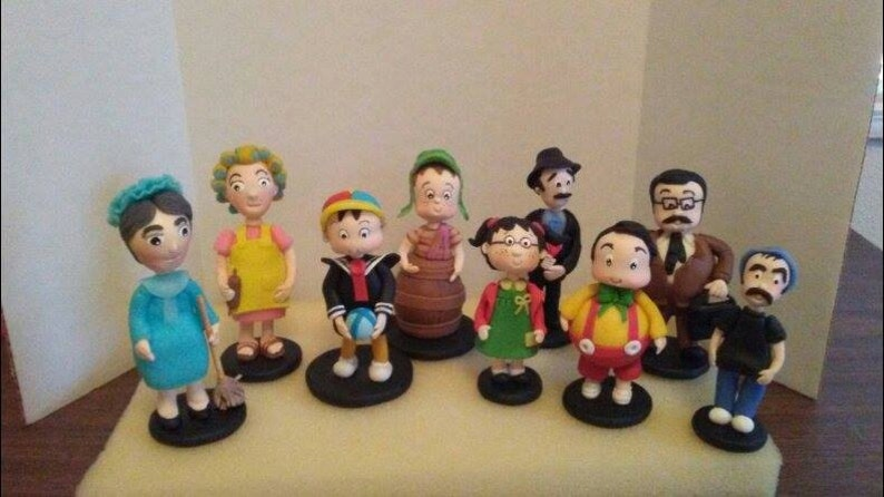 ONE CHARACTER El chavo cake topper party favor