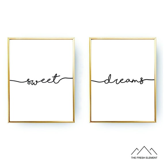 typography print Dream Inspired definition various Sizes Frame Not Included Poster Print