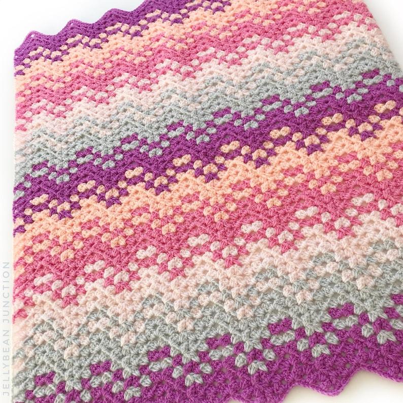 Confetti Waves Crochet Pattern image 0