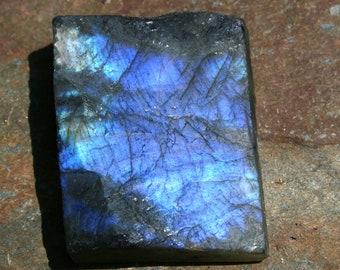 Labradorite Crystal Gemstone Rough Pendant Necklace