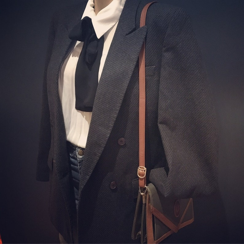 Vintage 80s double breasted coat