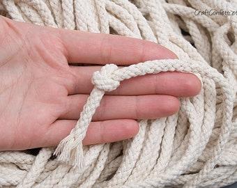 3 ROLLS 2mm Natural Hemp Linen Cord Jute Twine Rope String Twisted Burlap NIP