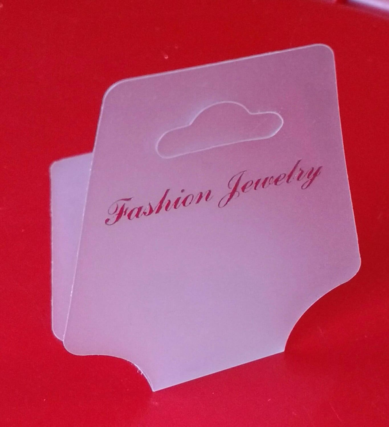12x Display Cards Price Tags Necklace White Plastic Fold Over Jewellery Label 3 5x7 5cm Bracelet Making Diy Jewelry Shop Supplies Uk