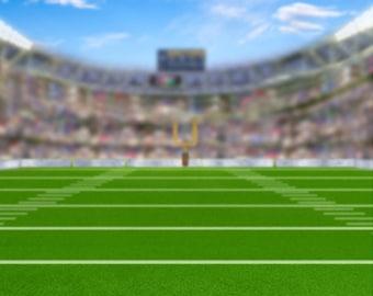 Bokeh Football Field Photography Backdrop / Banner (SPT-GI-020)