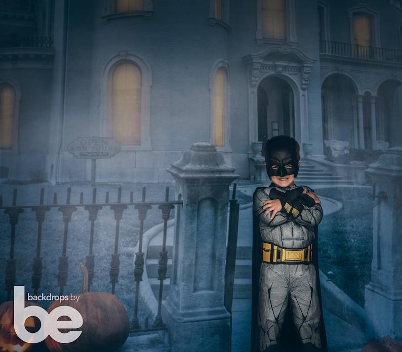 Haunted Mansion Halloween Backdrop HWA-SE-004