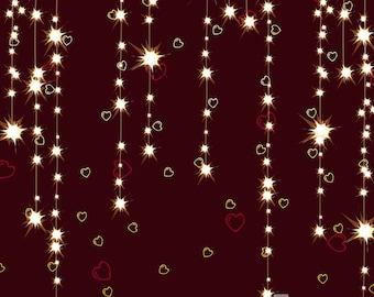 Electric Hearts Valentine Photography Backdrop (VAL-VS-025)