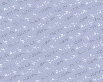 You & Me Forever Printed Backdrop (WED-VS-027)