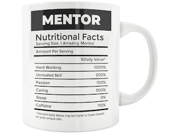 Mentor Gift Mug Teacher Christmas Graduation For Giving Thank You Appreciation GiftBest Advisor