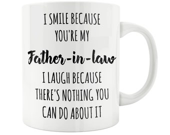 Father In Law Gifts Mug Gift For LawFather GiftFather BirthdayProud LawDaughter