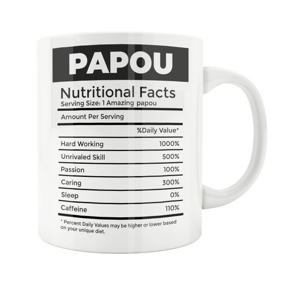 Papou Gift Mug Dad Father Fathers Day Grandpa