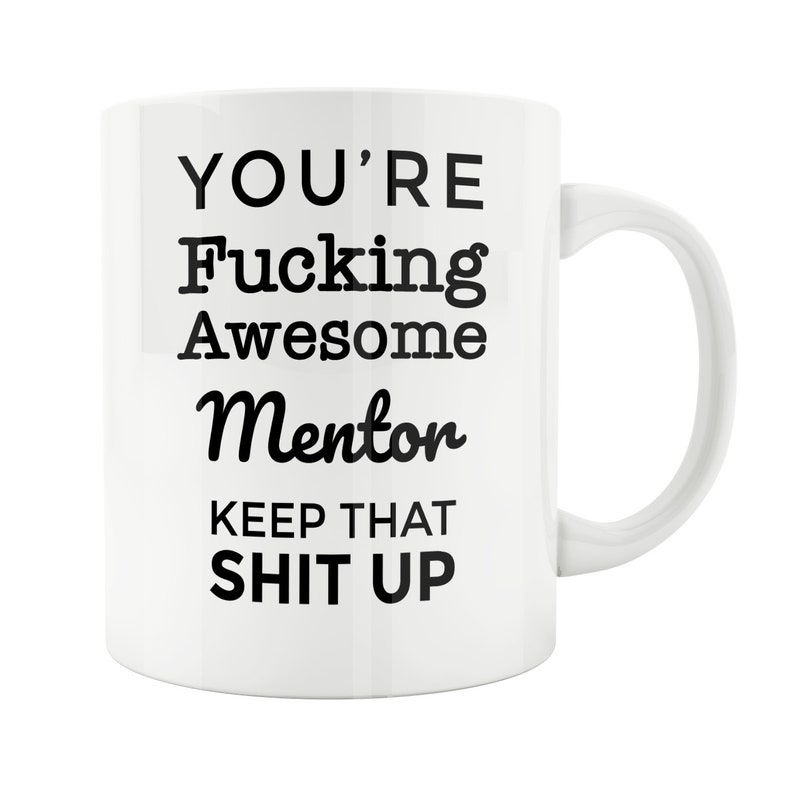 Mentor Gift Mug Birthday Coworker Friend