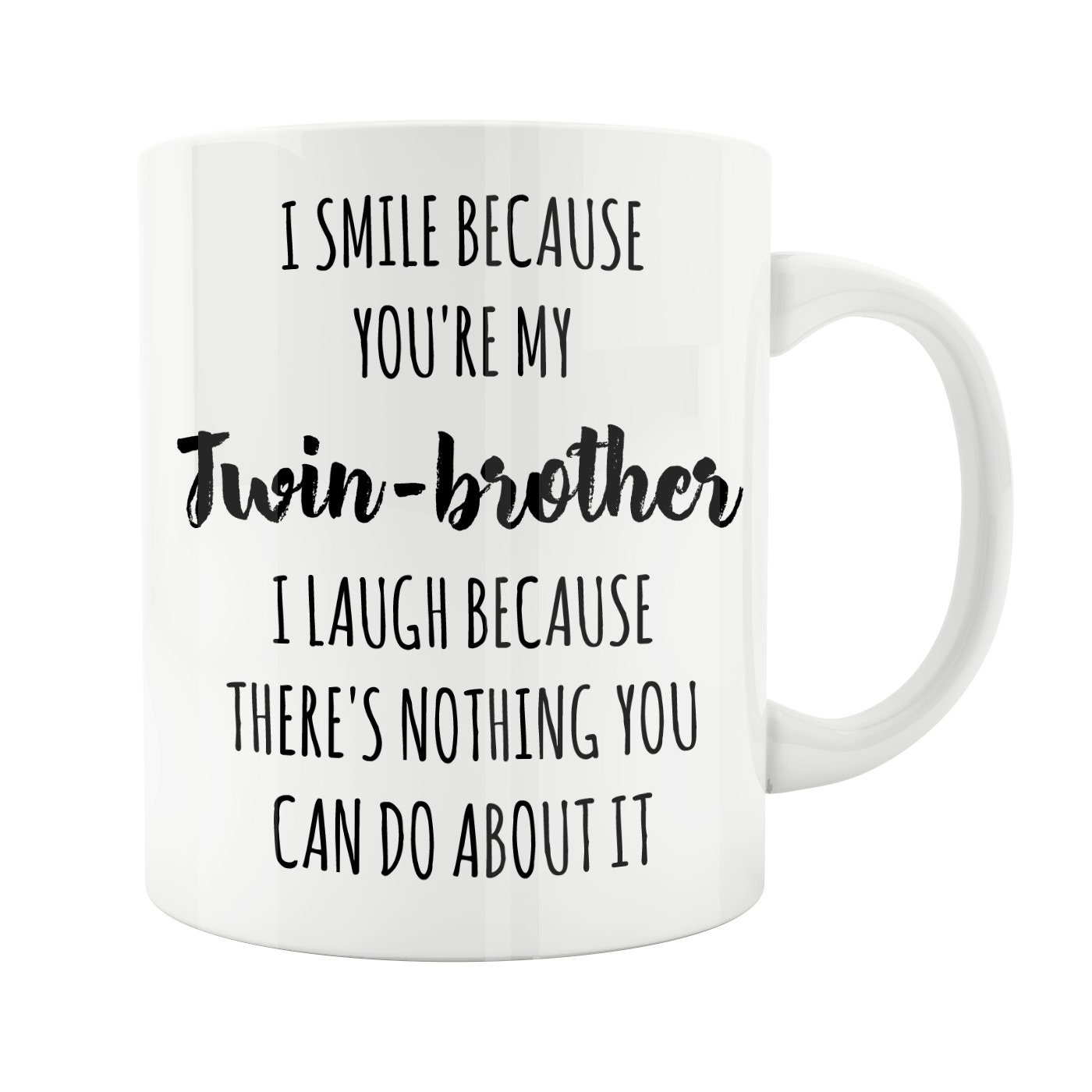 Twin Brother Mug Gift For Siblings Baby Shower