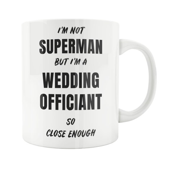 Wedding Officiant Mug Officiant Gift Wedding Officiant Gift Etsy