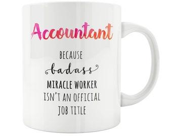 Accountant Mug, Best Accountant Mug, Accountant Cute Mug, Gift For Accountants, Accountants Gift, Awesome Accountant, Best Accountant Funny