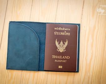 Personalized leather passport holder, passport cover,  leather passport holder, engraved passport cover,passport wallet