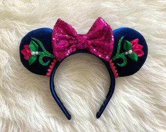 Princess Anna Minnie Ears