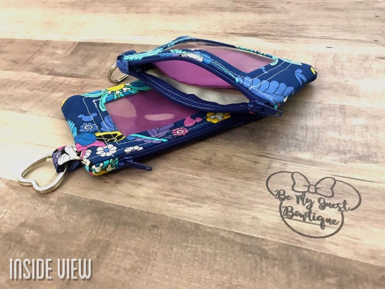 Mickey and Friends Halloween Costume Keychain ID Wallet