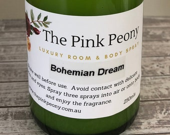 Bohemian Dream Linen, Room & Body Spray