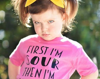 First Iu0027m Sour then Iu0027m Sweet //Toddler/Youth//infant//Tee//Shirt//sour patch  sc 1 st  Etsy & Cool kid on the block shirt Cool kid shirt Hipster shirt