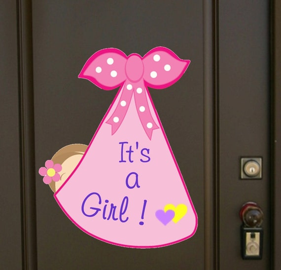 Door Decoration To Announce Arrival Of Baby  from i.etsystatic.com