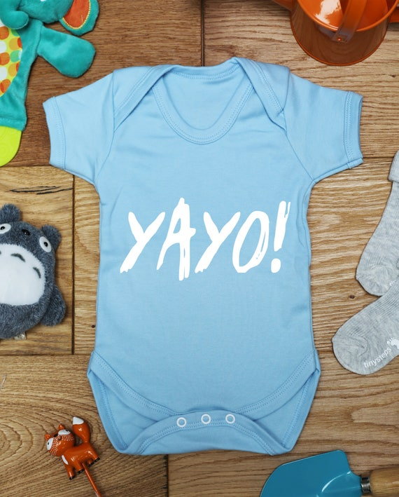 printed babies wear clothing hippy handmade A brew will see you through baby vest boys girls grow little hippo made to order bodysuit