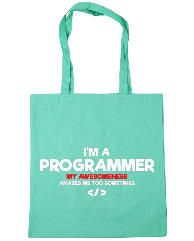 10 litres my awesomeness amazes me too sometimesTote Shopping Gym Beach Bag 42cm x38cm I/'m a programmer
