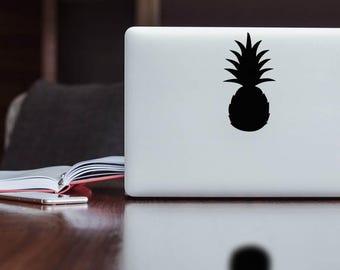 Pineapple Sticker Decal for macbook / laptop / ipad