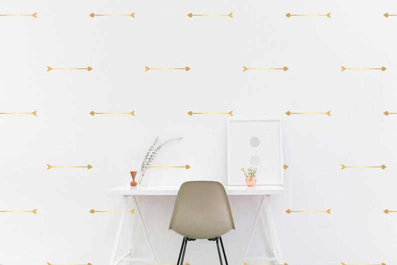 Pfeil Herz Wand Aufkleber Muster Gold Indischen Pfeil Kinder Zimmer Wand Aufkleber Kinder Schlafzimmer Tapete Vinyl Wand Aufkleber Kinderzimmer