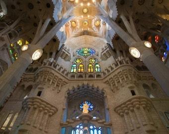 La Sagrada Familia, Barcelona, Spain, Catalan Architecture- Gaudi -2