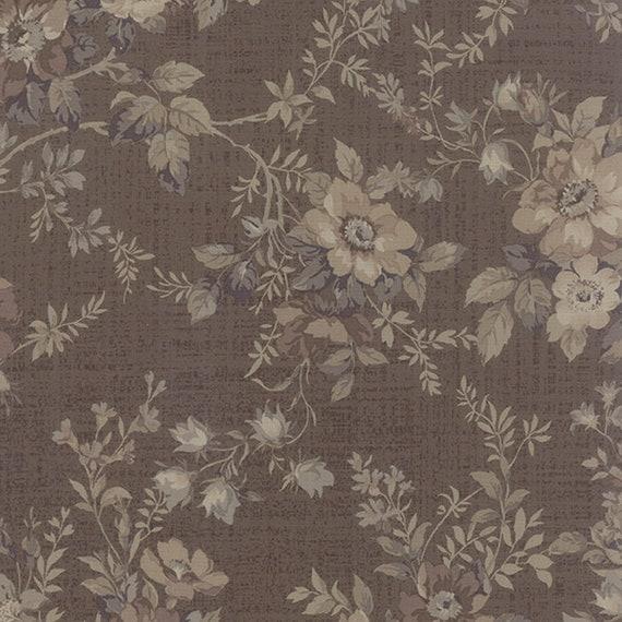 Moda EVENING MIST Beige Floral 32990 12 Sentimental Studio QUILT FABRIC