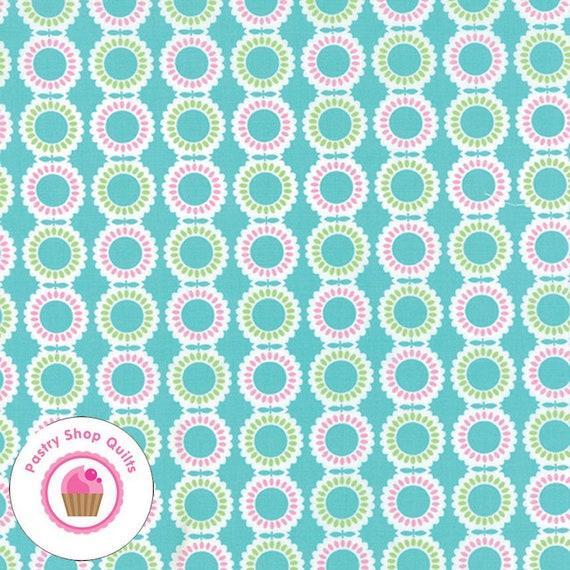by 1//2 yard 22242 16 MODA Fabric ~ BANDANA ~ Me /& My Sister Pink