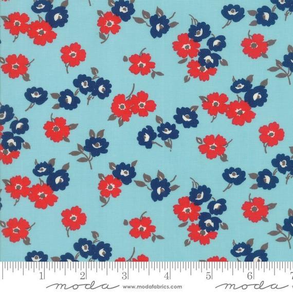 Moda SUNDAY DRIVE Beige Floral Multi 43071 11 Pat Sloan QUILT FABRIC