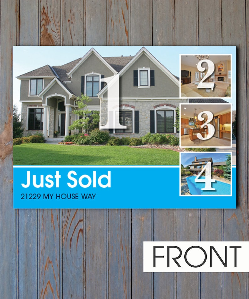 Real Estate Just Sold Card #4