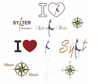 Embroidery file * Sylt *