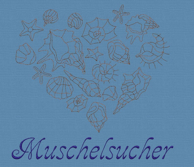 Embroidery file* Shell finder*