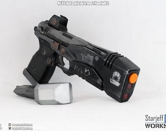 RE45 Auto Pistol from Titanfall 2 [Fan-art]