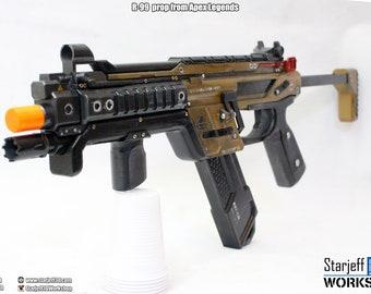 R-99 SMG from Apex Legends [Fan-art]