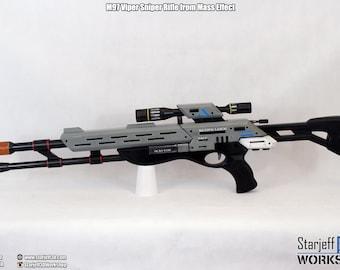M97 Viper Sniper Rifle from Mass Effect [Fan-art]