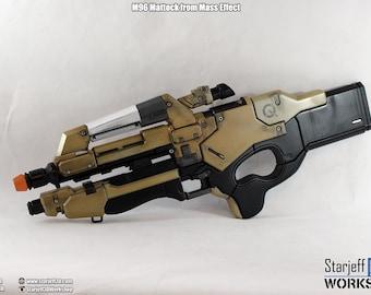 M96 Mattock from Mass Effect [Fan-art]