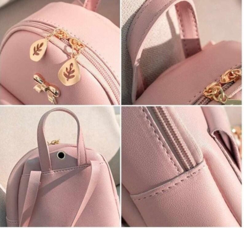 Cute small Kawaii backpack with bow christmas present