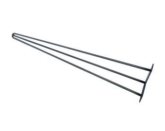 """Hairpin Legs 24"""" - 29"""", Hairpin Table Leg, Mid Century Modern, Metal Legs, Hairpin Leg, Coffee Table Legs, Midcentury Modern Steel Table Leg"""