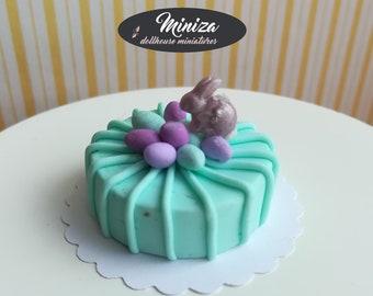 Miniature cake,1:12 scale