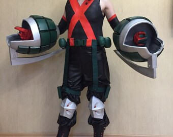 73a0ed61a7e8c FREE SHIPPING My Hero Academia Katsuki Bakugou the whole cosplay costume  shoes pants weapons accessories