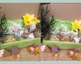 Handmade/Homemade Natural Dog Treats Large Seasonal/birthday box/hamper