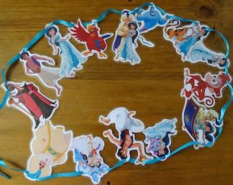 Disney Aladdin & Princess Jasmine Bunting