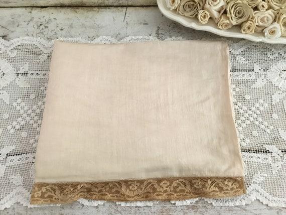 Antique Silk Lingerie Case
