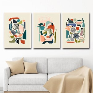 A3 A2 A1 A0 B1 Set of 3 Minimal Scandi Nature Home Decor Wall Art Poster Print