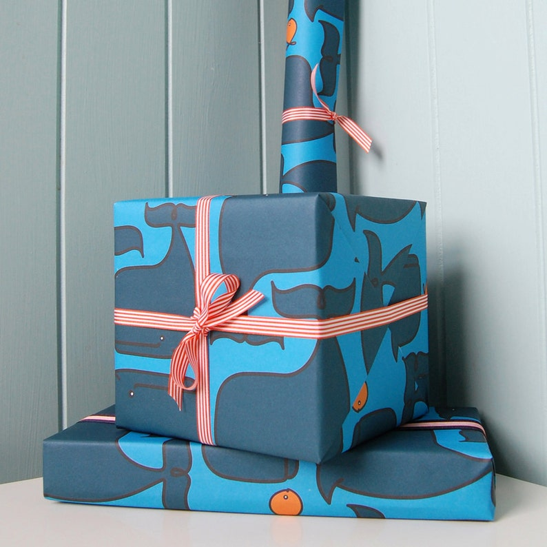 Wrapping Paper and Ribbon Set for Birthdays Anniversaries and image 0