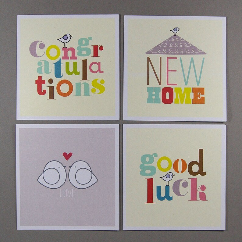 Four Occasions Greetings Cards image 0