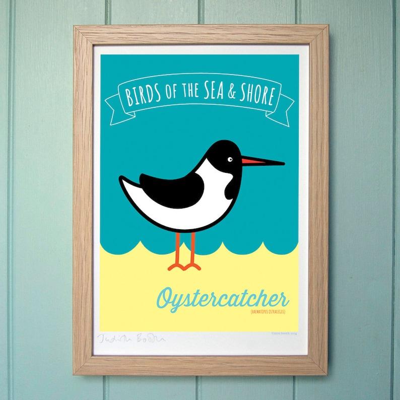 A4 Digital Print for Kids  Oystercatcher image 0